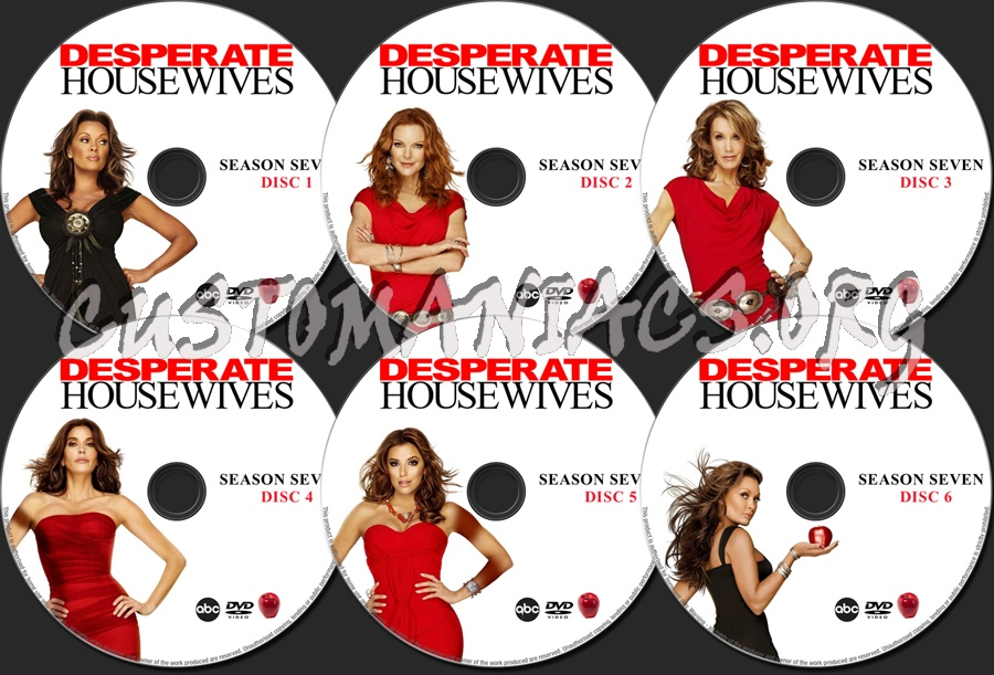 desperate housewives season 7 dvd label dvd covers labels by customaniacs id 132293 free. Black Bedroom Furniture Sets. Home Design Ideas