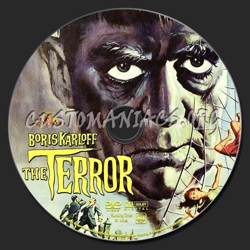 The Terror dvd label