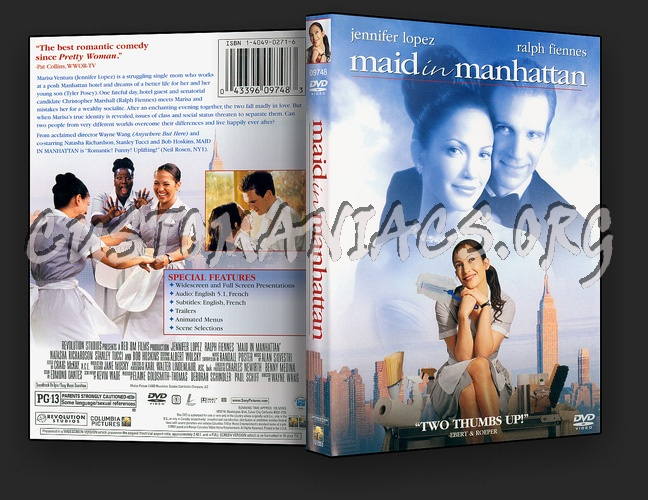 Maid In Manhattan dvd cover - DVD Covers & Labels by Customaniacs ...