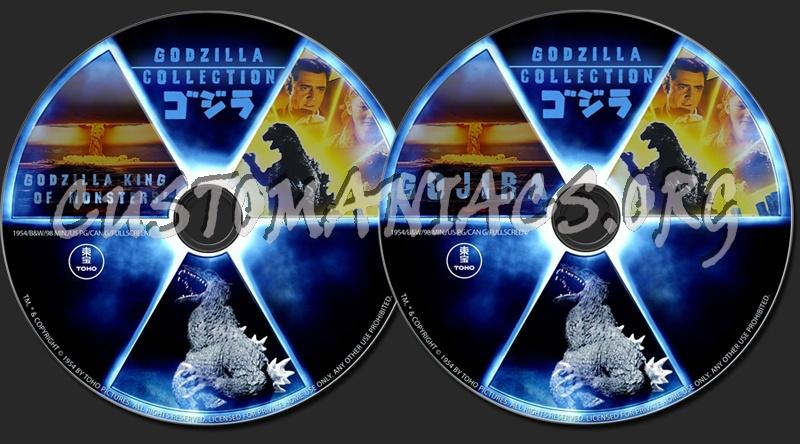Gojira - Godzilla King of Monsters dvd label