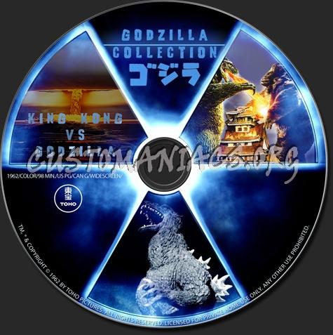 King Kong vs Godzilla dvd label