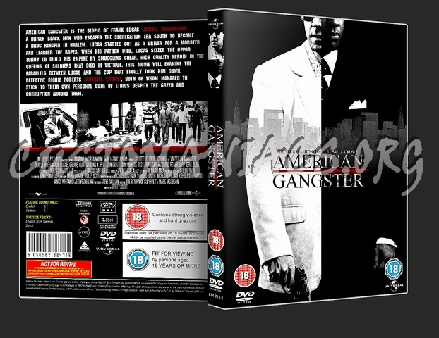 American Gangster dvd cover