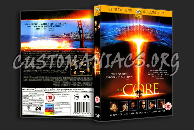 The Core dvd cover