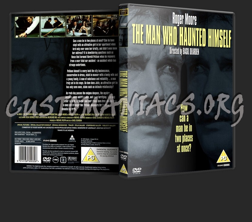 The Man Who Haunted Himself dvd cover