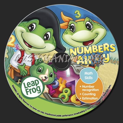 Leapfrog Numbers Ahoy - 2010 [Dvdrip]