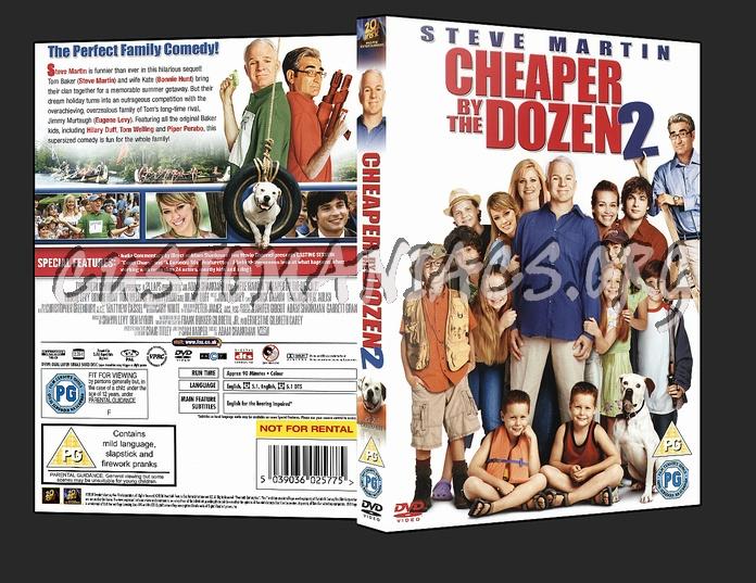 Cheaper By The Dozen 2 dvd cover