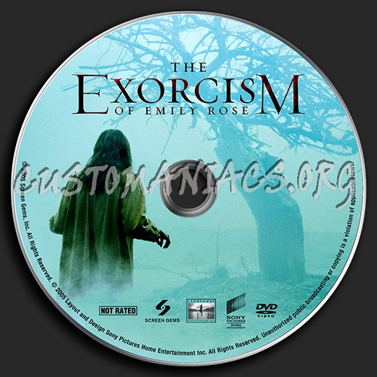 The Exorcism of Emily Rose dvd label