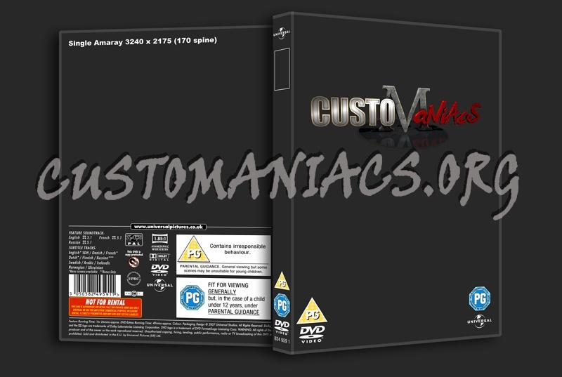 Universal dvd label