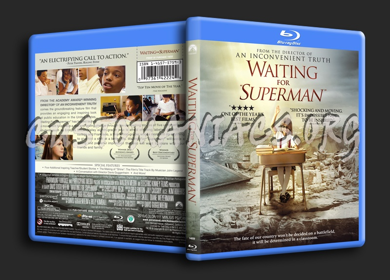 Waiting for Superman blu-ray cover