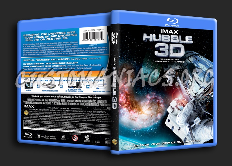 DVD Covers & Labels by Customaniacs - View Single Post - IMAX: Hubble 3D