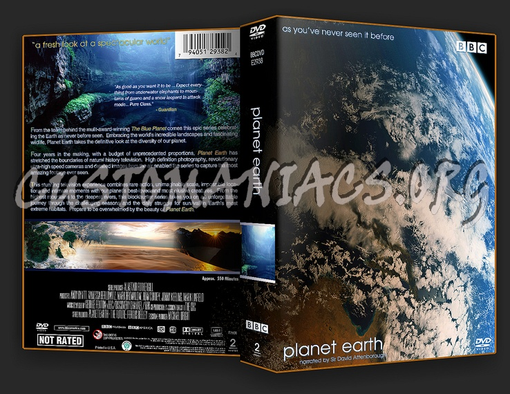 BBC Planet Earth dvd cover