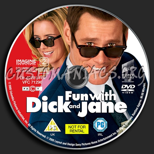 Thought differently, dick and jane dvd cover phrase