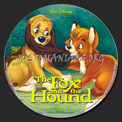 The Fox And The Hound dvd label - DVD Covers & Labels by ...