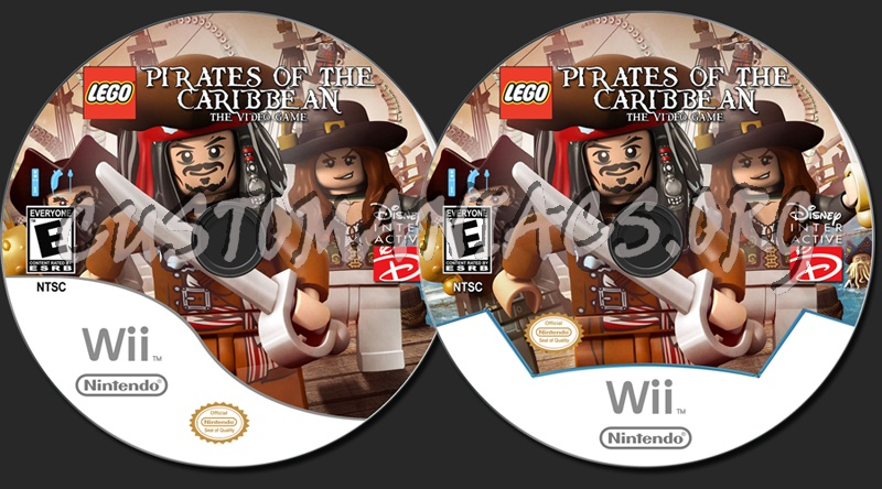 Lego Pirates Of The Caribbean Dvd Label Dvd Covers Labels By