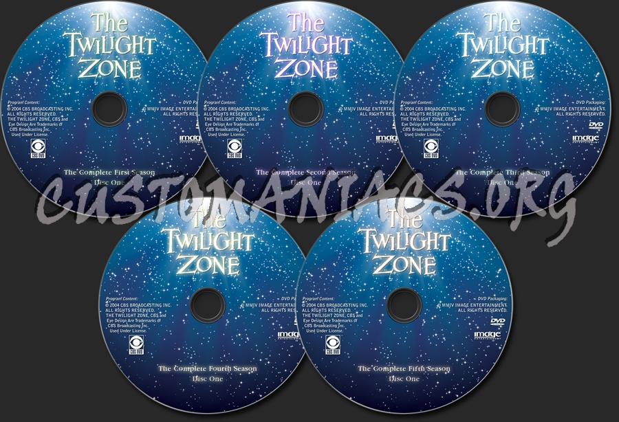 The Twilight Zone dvd label