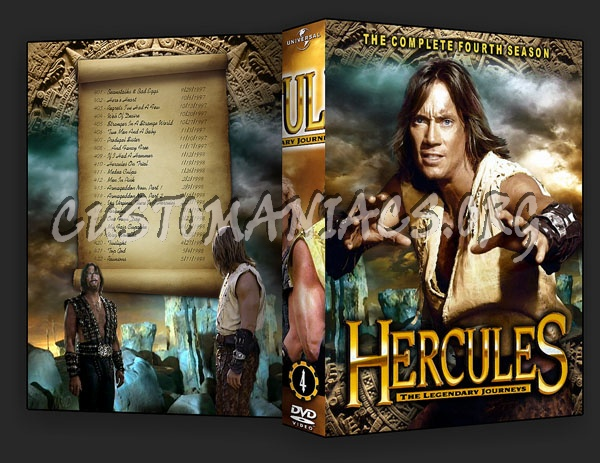 Hercules - The Legendary Journeys dvd cover