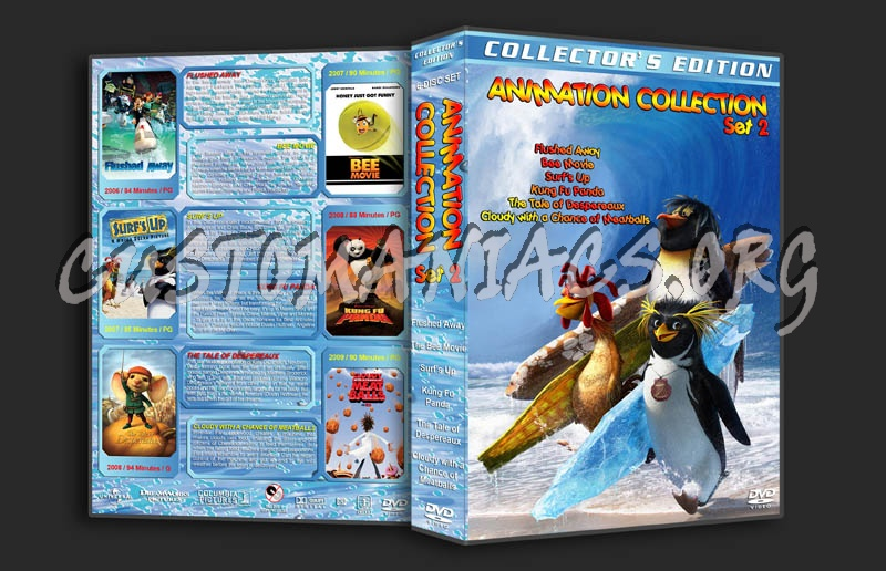Animation Collection - Set 2 dvd cover