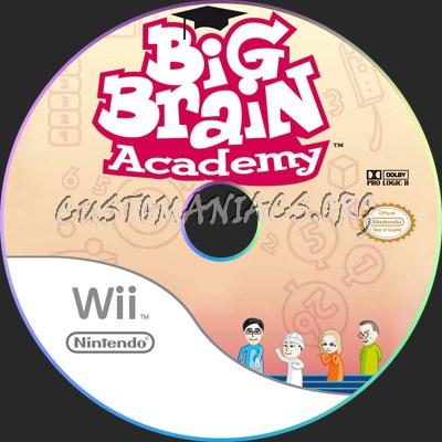 Big Brain Academy dvd label
