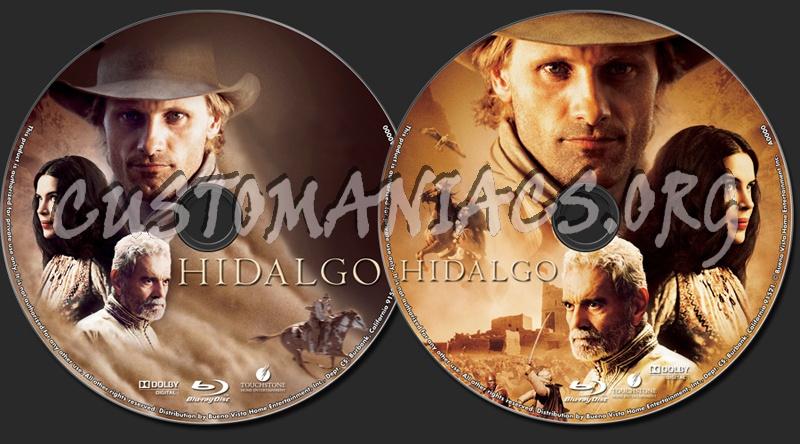 Hidalgo blu-ray label