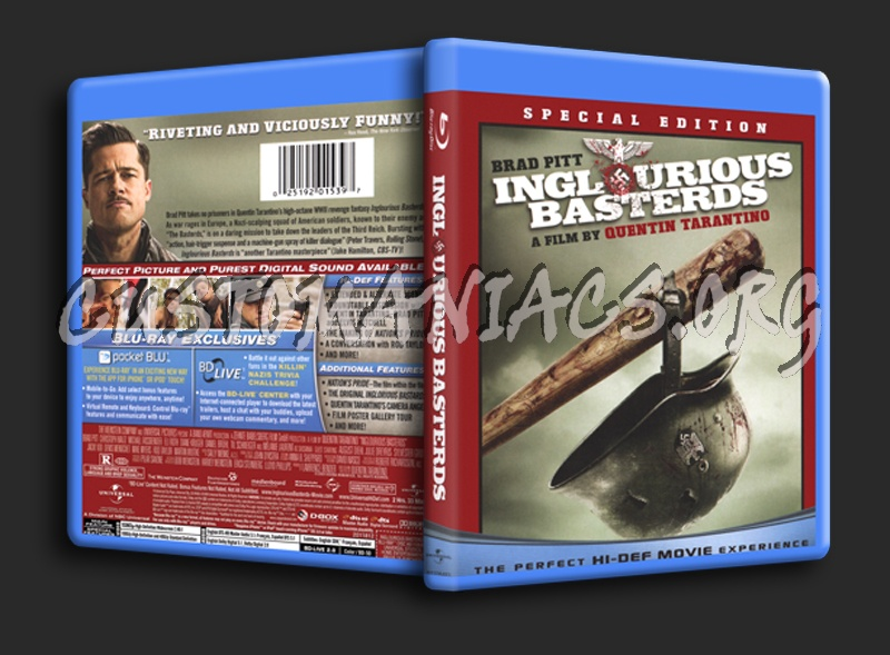 Inglourious Basterds blu-ray cover
