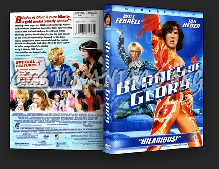 Blades of Glory Dvd Cover Blades of Glory Dvd Cover