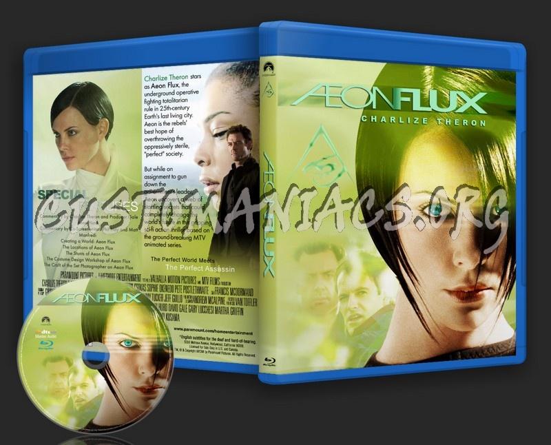 Aeon Flux blu-ray cover
