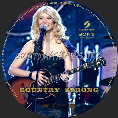 Country Strong dvd label