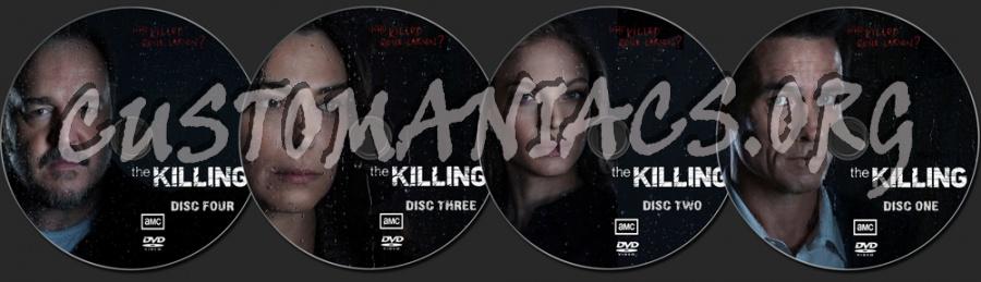 The Killing Season 1 dvd label