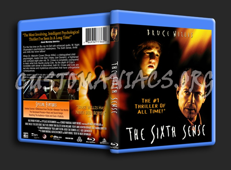 The Sixth Sense blu-ray cover