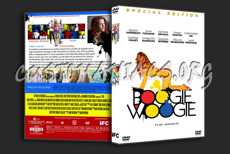 Boogie Woogie dvd cover