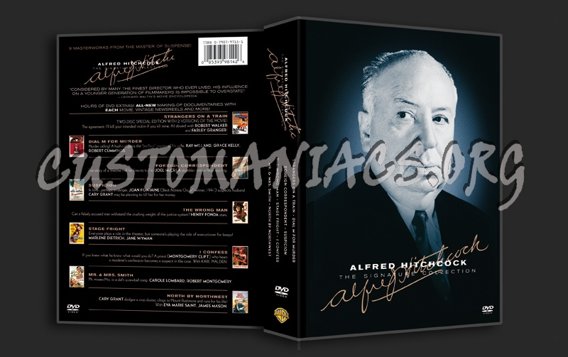 Alfred Hitchcock The Signature Collection dvd cover