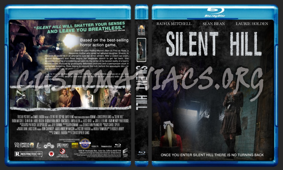 Silent Hill blu-ray cover