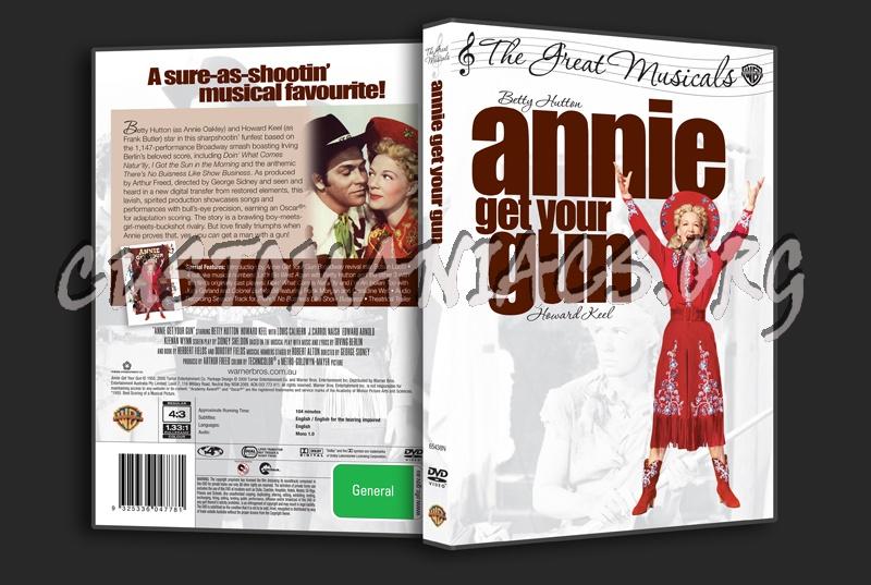 Annie Get Your Gun dvd cover