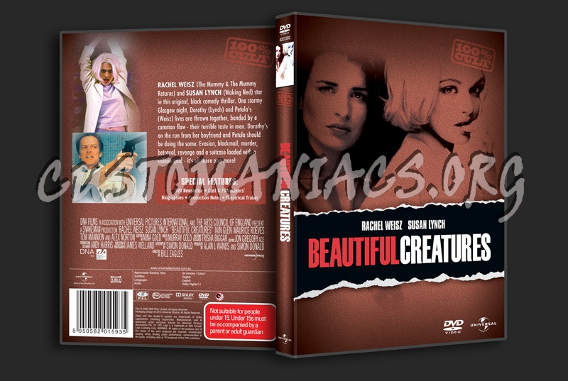 Beautiful Creatures dvd cover