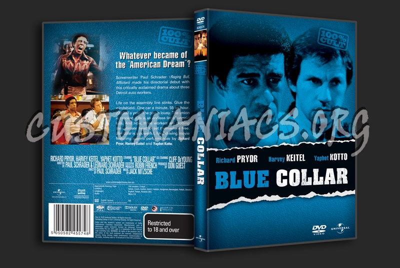 Blue Collar dvd cover