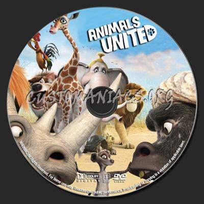 Animals United dvd label