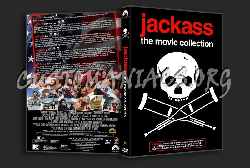 Jackass Movie Collection dvd cover