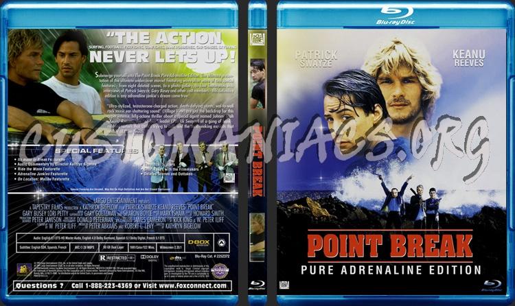 Point Break blu-ray cover