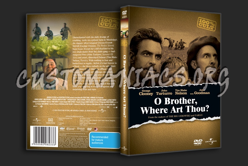 O Brother, Where Art Thou? Dvd Cover
