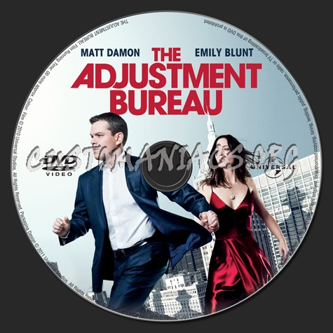 the adjustment bureau dvd label dvd covers labels by customaniacs id 134368 free download. Black Bedroom Furniture Sets. Home Design Ideas