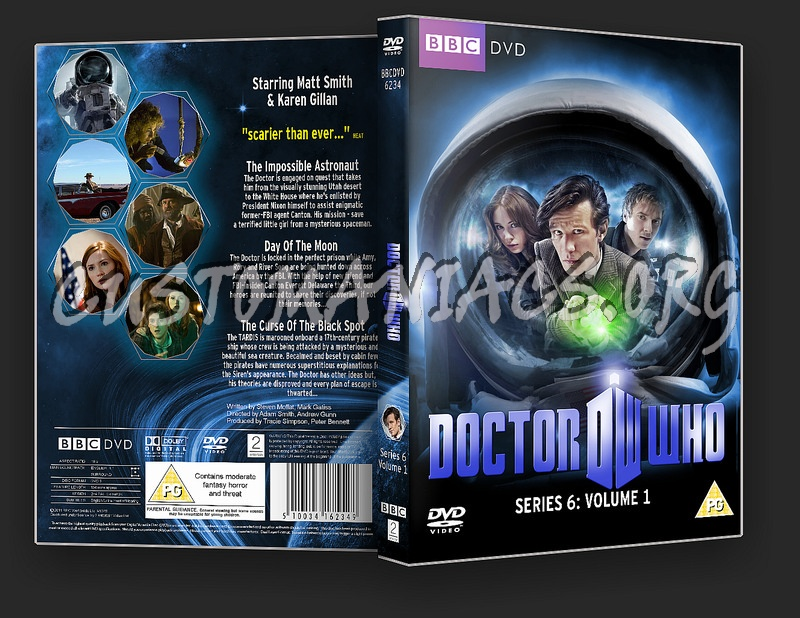 Doctor Who Series 6 Volume 1 dvd cover