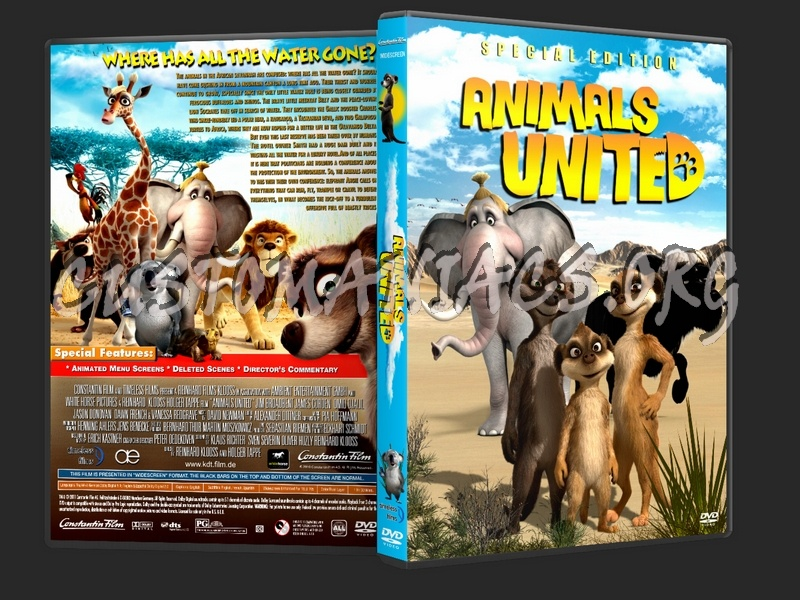 Animals United dvd cover
