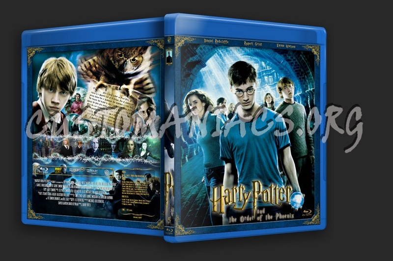 Harry Potter Collection blu-ray cover