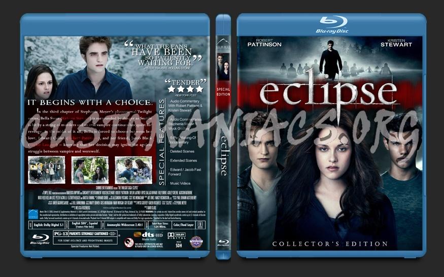 Twilight: Eclipse blu-ray cover