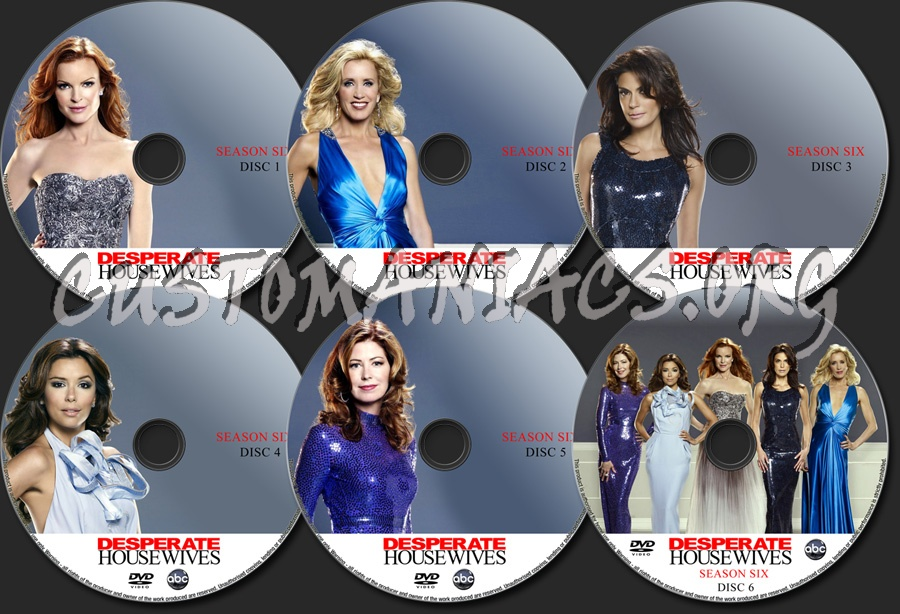 Desperate Housewives Season 6 Dvd Label Dvd Covers Labels By Customaniacs Id 134791 Free Download Highres Dvd Label Lynette faces the reality of another pregnancy; desperate housewives season 6 dvd label