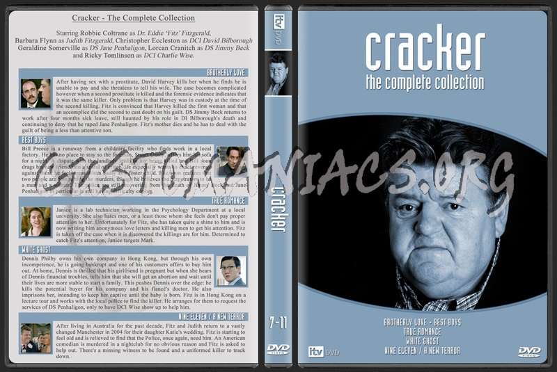Cracker - The Complete Collection dvd cover