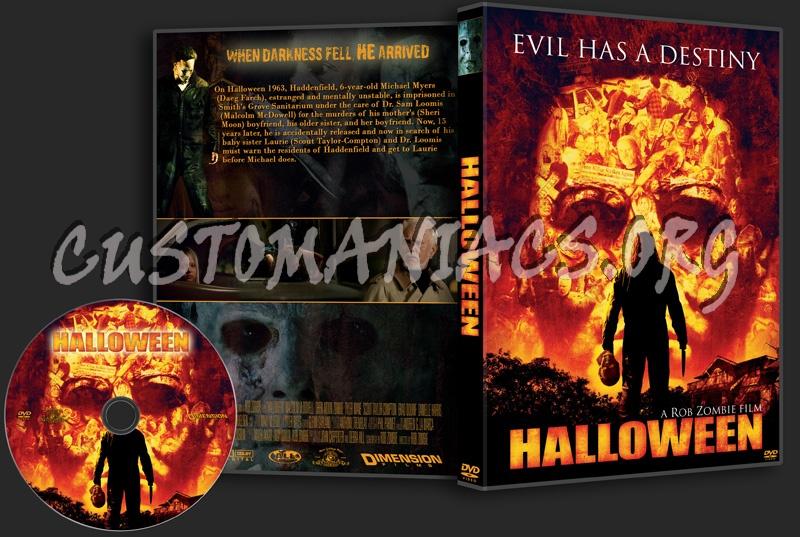 Halloween (2007) dvd cover