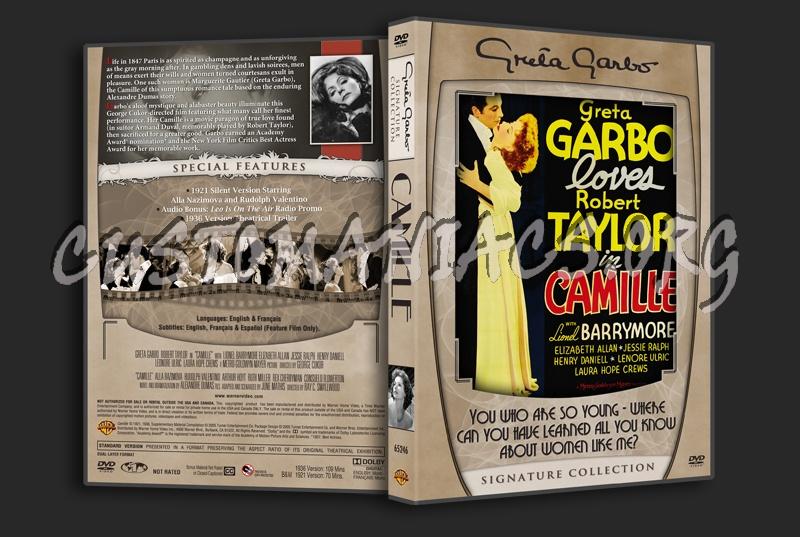 Greta Garbo Signature Collection - Camille dvd cover