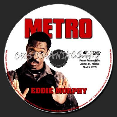 Metro dvd label