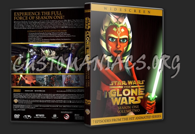 Star Wars The Clone Wars Dvd Cover Clone Wars Season 1 Dvd